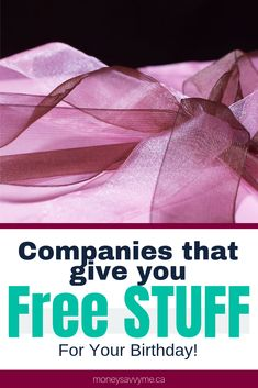 What better way to celebrate your birthday than with free stuff! Check out the great birthday promotions these companies are offering in I just … Freebies On Your Birthday, Free On Your Birthday, Free Birthday Gifts, Birthday Deals, Birthday Stuff, Stuff For Free, Free Stuff By Mail, Free Baby Stuff, Free Sample Boxes