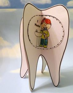 Health Craft -- A Tooth Brushing Craftivity by Robin Sellers - Aula - . Dental Health Craft -- A Tooth Brushing Craftivity by Robin Sellers - Aula - ., Dental Health Craft -- A Tooth Brushing Craftivity by Robin Sellers - Aula - . Hygiene Lessons, Health Lessons, Health Unit, Kids Health, Dental Hygiene, Dental Care, Dental Teeth, Health Activities, Activities For Kids