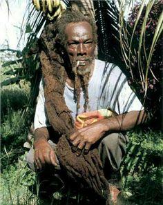 Bongo Dreads Rastafarian Beliefs, Rastafarian Culture, Dreadlocks Men, Locs, Rastafari Art, Freeform Dreads, Black Music Artists, Rasta Man, Black History Facts