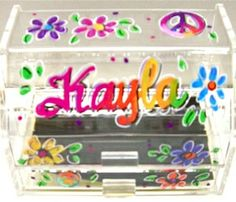 Acrylic Earring Keeper check out all the designs online
