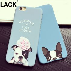 Hot Fashion Animal Cute Cartoon Hard PC Back Cover Case For iphone 5 5s SE 6 6S 6Plus Design Pocket For Dogs Pattern Phone Cases