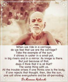 Inspiring Quotes About Life, Inspirational Quotes, Autobiography Of A Yogi, Ramana Maharshi, Spiritual Teachers, Osho, Spiritual Inspiration, Art Therapy, Spiritual Quotes