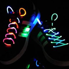 Glow in the Dark shoe laces!