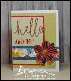 Hello & Thanks Thin Cuts   Crafting with Lalia   Bloglovin'
