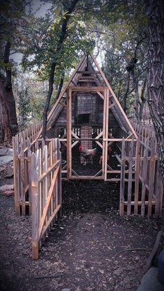 Our beautiful chicken coop my honey love built for our chickens .no more raccoons .we hope inlove with this for back yard omg be so pretty with window's and flower boxes under and shrubs and flowers around gotta gotta do this bad Chicken Garden, Chicken Life, Backyard Chicken Coops, Backyard Farming, Chickens Backyard, City Chicken, A Frame Chicken Coop, Chicken Coop Plans, Building A Chicken Coop