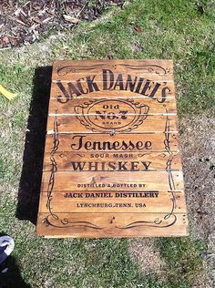 Coffee Table Reclaimed Pallet (jack Daniels)