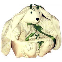 Conejo para guardar cosas de #bebé.  #Emprendimiento #LaTiendaDelCEES  #Textiles #SantaFe