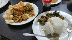 "@Warung Betawi in Kuta the gado"" and the Soto Betawi are amazing"