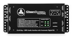 JL Audio CL441DSP CleanSweep OEM Audio Interface by JL Audio. $209.98. JL Audio CL441DSP CleanSweep OEM Audio Interface: The CleanSweep uses a 32-bit digital signal processor to remove the factory adjustments, then sends your external amplifiers a perfectly clean signal. The CleanSweep connects to your factory radio's speaker wires, then takes the output of your factory radio and eliminates the peaks and valleys of the preset equalization, leaving a pure, unadulterated signal ...
