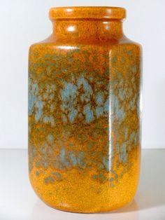 Scheuric, West German pottery, Ceramic Vase, Mid Century
