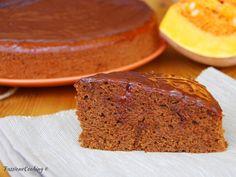 Torta di zucca e cioccolato fondente