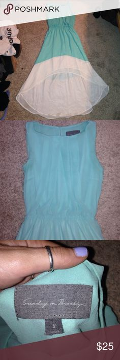 Super cute high-low maxi dress!! Bought from a boutique! Never worn! Sunday in brooklyn Dresses High Low