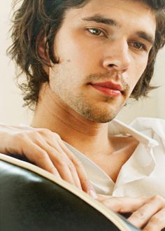 """Little bit like Tom, too. Partly that sweet """"protect me"""" quality? Also could totally pull off winklepickers and mad socks. (Photo of Ben Whishaw.)"""
