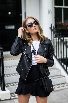 Monochrome street style for summer with New Look, Loavies & Missguided - Chelcie Nicole M