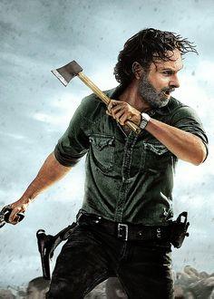 RICK GRIMES   100 EPISODES   Season 8 - October 22, 2017   ALL OUT WAR   The Walking Dead (AMC)