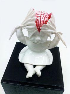 Maria Rubinke, art, sculpture, morbid, macabre