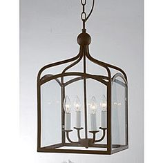 Antique Copper 4-light Chandelier | Overstock.com Shopping - Great Deals on Chandeliers