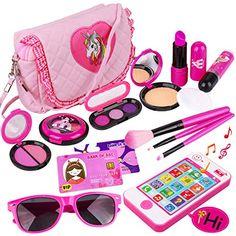 Makeup Kit For Kids, Kids Makeup, Fake Makeup, Makeup Set, Makeup Toys, Princess Gifts, Pink Princess, Toddler Gifts, Toddler Toys
