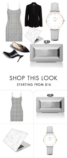 """Office style"" by angelica-penguin ❤ liked on Polyvore featuring Alexander Wang, Judith Leiber, Recover, CLUSE, Vince Camuto, WorkWear and grey"