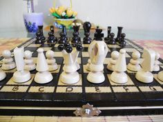 Very large  Chess Chess board Chess set Large chess от EcoToy, $44.99