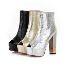 Aliexpress.com : Buy Teethteats flash fashion ultra high heels thick heel platform cool boots open toe sandals s063377 90 from Reliable toe shoe suppliers on Find_fashion store . $31.73