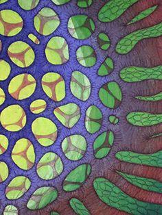 fiber art . by betty busby