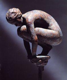 ancient bronze patina - Google 搜索 Bronze Sculpture, Lion Sculpture, William Ellis, Galleries In London, Tile Art, Beautiful Artwork, Figurative Art, New Art, Statue