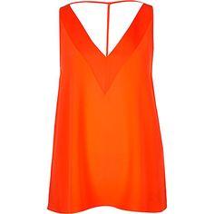 Orange strap back cami 20,00 €