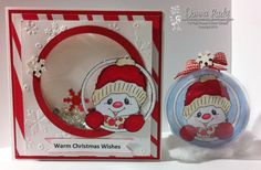 Snowy Love - Ornament and Shaker