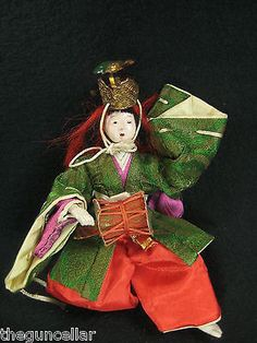 #Antique 90 yr old japanese hina-ningyo #girls day #doll, drum musician, from jap,  View more on the LINK: http://www.zeppy.io/product/gb/2/111946664266/