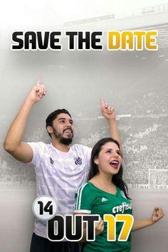 Save the date, referência ao FIFA!! #savethedate, #Save #the #date #FIFA #fifa17 #wedding #casamento #noivos #casar #noiva #palmeiras #santos