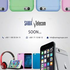 Soon!!! Opening of Sama Telecom Store in Beirut... For more info Call or WhatsApp us on: +961 1 89 33 04/05, +961 71 12 66 12 or info@samagroups.com, www.samagroups.com #samatelecom #samagroup #telecom #mobile #technology #internet #cellphone #accessories #network #telecommunication #software #hardware #mobileapp #computer #laptop #wifi