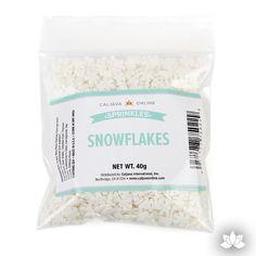 Snowflake Sprinkles 40g