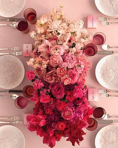 pretty shades of pink