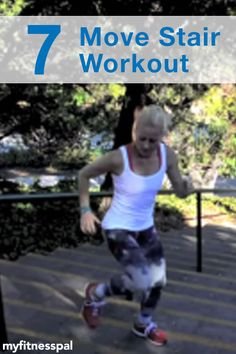 Give your stair workout a boost with these 7 moves. Summer Body Workouts, At Home Workouts, Health And Fitness Tips, Fitness Goals, Workout Inspiration, Fitness Inspiration, Stairs Workout, Motivational Blogs, Best Cardio