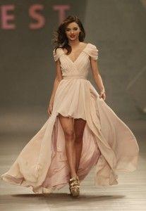 robe bal courte devant longue derrière