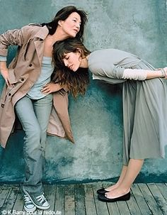 via Mademoiselle Demi Jo: Lou Doillon & Jane Birkin = French Chic