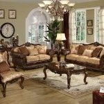 Fantastic And Unique Leather Living Room Furniture Sets Sale B01