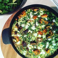Monash University Low #FODMAP Vegetarian Frittata. Link: http://fodmapmonash.blogspot.com.au/2016/09/low-fodmap-vegetarian-frittata.html