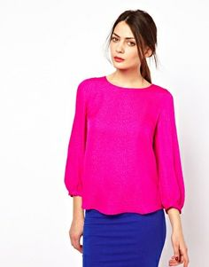 Long Sleeve Blouse #love #vday #dftd #valentinesday #pink