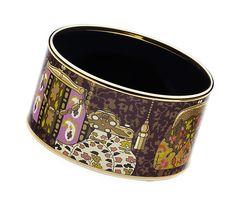 Enamel Jewelry Hermès Brown - Printed Bracelets - Jewelry | Hermès, Official Website