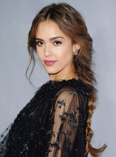30 Badass Braid Ideas For Every Hair Length #refinery29  http://www.refinery29.com/best-braids-by-hair-length#slide-1  Short HairSienna MillerFor Miller's fresh take on a half-updo, draw a strong center-part and grab a small chunk of hair from either side of it. Divide each section in two and twist back the hair like a rope, adding strands from each side as you rotate. ...