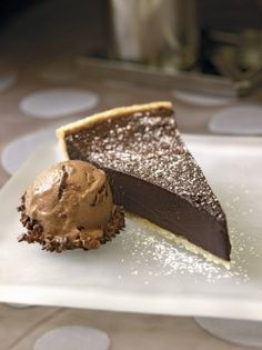 #31 Recipe: Chocolate Bourbon Fudge Tart   Good Food