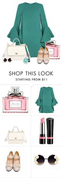 """Hi Monday"" by steviepumpkin ❤ liked on Polyvore featuring Christian Dior, Dolce&Gabbana and Rimmel"