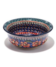 Loving this Cherished Friends Flared Chili Stoneware Bowl on #zulily! #zulilyfinds