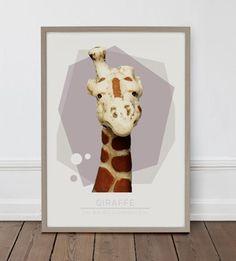 Giraffe 50*70 cm
