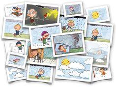 Página con un montón de vocabulario en imágenes de todas las categorías y familias