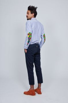 Яркие заплатки на локоть / Аппликации / Модный сайт о стильной переделке одежды и интерьера