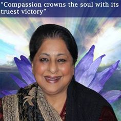 """Compassion crowns the soul with its  truest victory"""