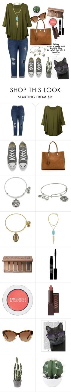 """""""For my mom♥️"""" by averytheleapinglizard ❤ liked on Polyvore featuring Melissa McCarthy Seven7, Converse, Alex and Ani, Kendra Scott, Urban Decay, Lord & Berry, Bare Escentuals, Burt's Bees, Michael Kors and FabFunky"""